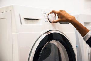 washing machine adjustment